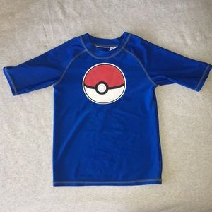 Other - Boys Pokémon swim shirt. Size S. From Target